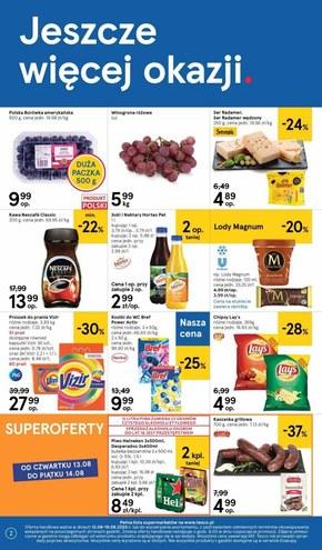 Rabaty w Tesco Supermarket!