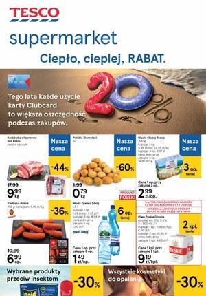 Gazetka promocyjna Tesco Supermarket - Rabaty w Tesco Supermarket!