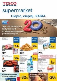 Gazetka promocyjna Tesco Supermarket - Rabaty w Tesco Supermarket!  - ważna do 19-08-2020