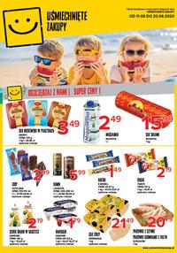 Gazetka promocyjna Uśmiechnięte zakupy - Czas na Uśmiechnięte Zakupy! - ważna do 23-08-2020