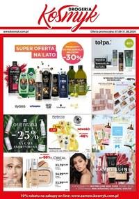Gazetka promocyjna Drogeria Kosmyk - Super oferta na lato w Drogerii Kosmyk - ważna do 31-08-2020