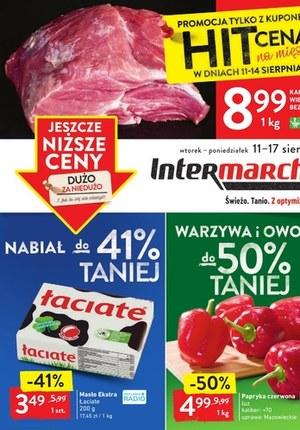 Gazetka promocyjna Intermarche Super - Niższe ceny w Intermarche!