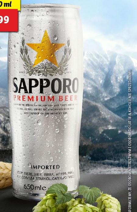 Piwo Sapporo