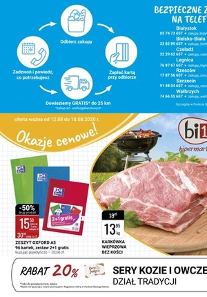 Gazetka promocyjna bi1 - Okazje cenowe w Bi1!