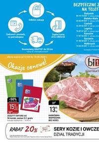 Gazetka promocyjna bi1 - Okazje cenowe w Bi1! - ważna do 18-08-2020
