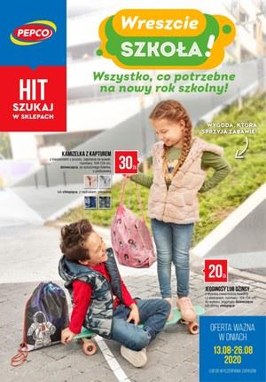Gazetka promocyjna Pepco - Pepco - wreszcie szkoła!
