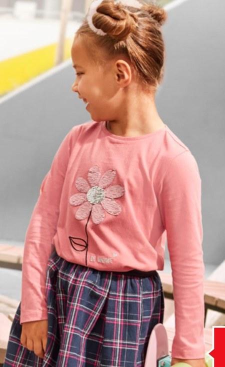 Koszulka dziewczęca Pepco