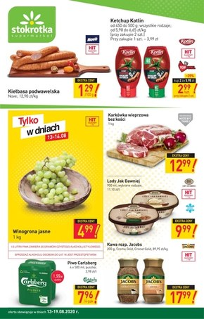 Czas na nowe promocje w Stokrotce Supermarket