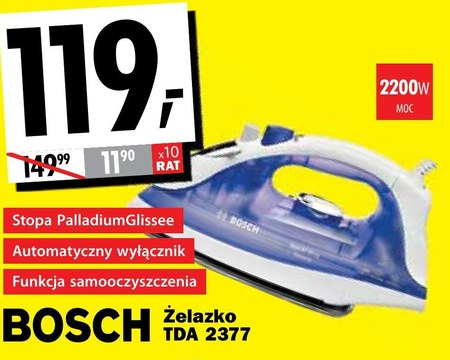 Żelazko Bosch