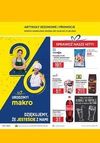 Gazetka promocyjna Makro Cash&Carry - Oferta spożywcza Makro! - ważna do 31-08-2020
