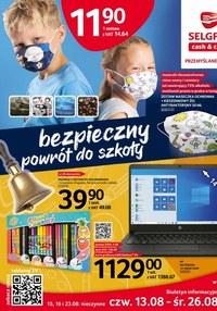 Gazetka promocyjna Selgros Cash&Carry - Bezpieczny powrót do szkoły z Selgros! - ważna do 26-08-2020