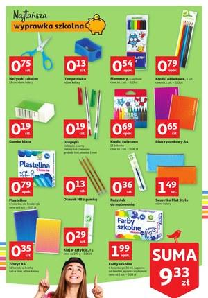 Gazetka promocyjna Auchan Hipermarket - Wyprawka szkolna w Auchan!