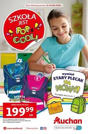 Szkoła jest Pop Cool - Auchan!