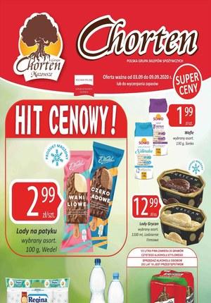 Gazetka promocyjna Chorten - Hity cenowe w Chorten!