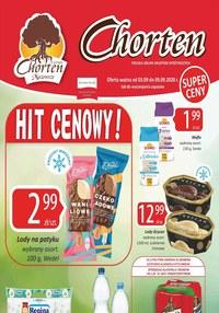 Gazetka promocyjna Chorten - Hity cenowe w Chorten! - ważna do 09-09-2020