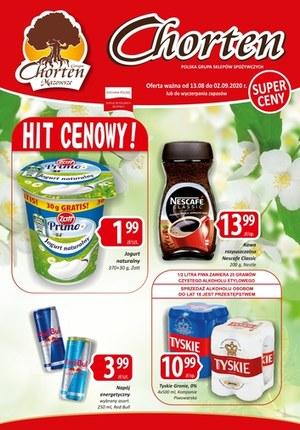 Gazetka promocyjna Chorten - Super ceny w Chorten!