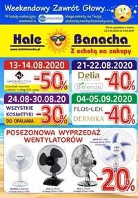 Gazetka promocyjna Hala Banacha - Zawrót głowy w Hali Banacha! - ważna do 08-09-2020