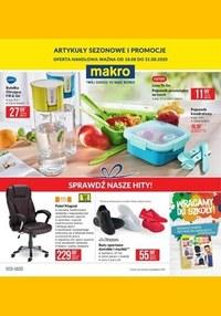 Gazetka promocyjna Makro Cash&Carry - Oferta przemysłowa i sezonowe promocje w Makro - ważna do 31-08-2020