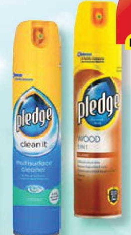 Spray do czyszczenia mebli Pledge