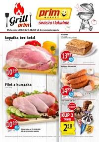 Gazetka promocyjna Prim Market - Czas na nowe promocje w Prim Market! - ważna do 19-08-2020