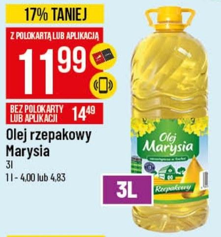 Olej rzepakowy Marysia