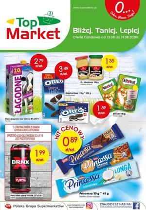 Gazetka promocyjna Top Market - Bliżej, taniej, lepiej - Top Market