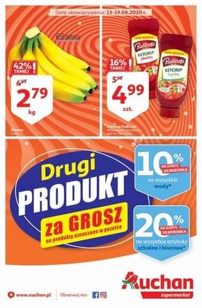 Zakupy jeszcze taniej - Auchan Supermarket!