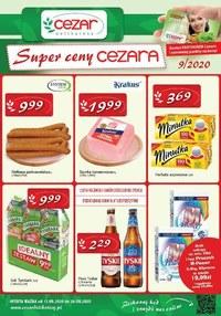 Gazetka promocyjna Delikatesy CEZAR - Super ceny Ceazara! - ważna do 26-08-2020