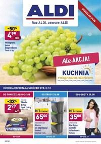Gazetka promocyjna Aldi - Promocje do wyczerpania zapasów w Aldi! - ważna do 31-08-2020