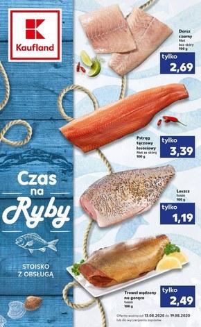 Targ rybny w Kauflandzie