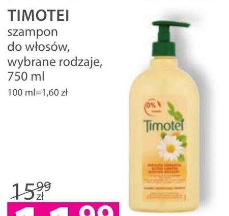Suchy szampon do włosów Timotei