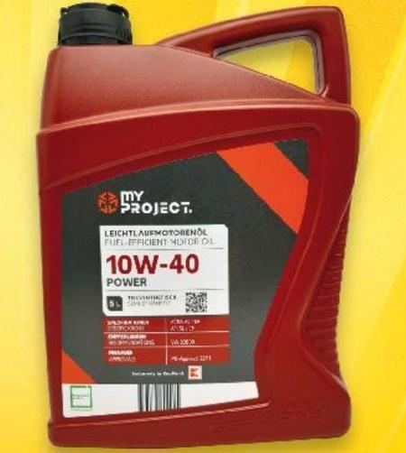 Olej do silnika MYProject