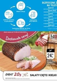 Gazetka promocyjna bi1 - Bezpieczne zakupy w Bi1! - ważna do 25-08-2020