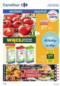 Gazetka promocyjna Carrefour - Najnowsza oferta spożywcza Carrefour!