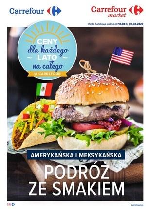 Gazetka promocyjna Carrefour Market - Podróże ze smakiem w Carrefour Market!