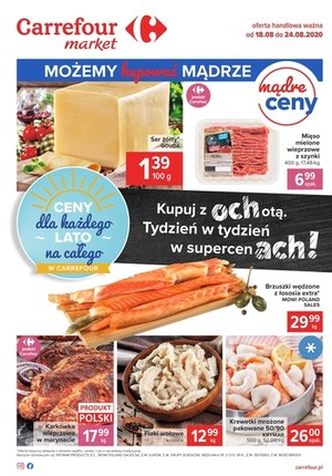 Gazetka promocyjna Carrefour Market - Carrefour Market  - oferta spożywcza!
