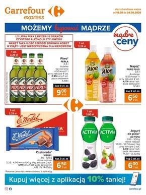 Artykuły spożywcze w Carrefour Express