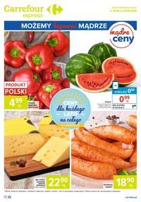 Gazetka promocyjna Carrefour Express - Możesz kupować mądrze w Carrefour Express! - ważna do 24-08-2020