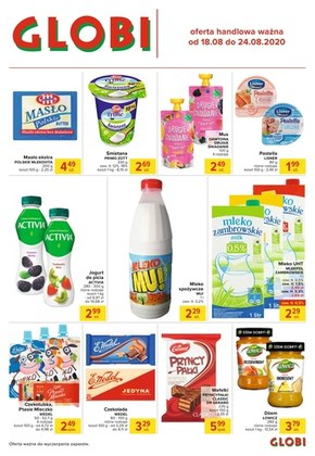 Promocje w sklepach Globi!