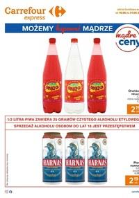 Gazetka promocyjna Carrefour Express - Oferta napojów w Carrefour Express! - ważna do 30-08-2020