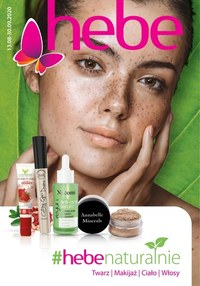 Gazetka promocyjna Hebe - Kosmetyki naturalne w Hebe - ważna do 30-09-2020
