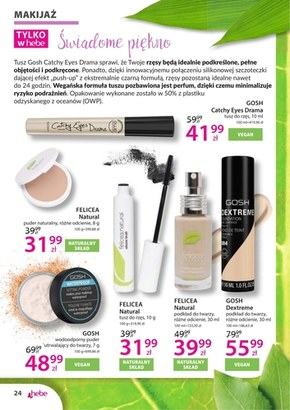 Kosmetyki naturalne w Hebe