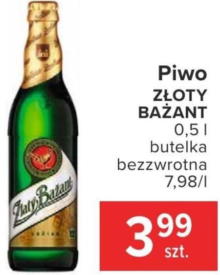 Piwo Złoty bażant