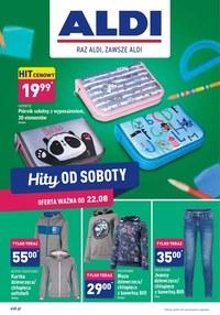 Gazetka promocyjna Aldi - Hity od soboty w Aldi! - ważna do 28-08-2020