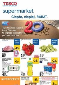 Gazetka promocyjna Tesco Supermarket - Tesco - gazetka promocyjna - ważna do 26-08-2020