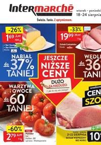 Gazetka promocyjna Intermarche Super - Świeżo tanio z optymizmem w Intermarche! - ważna do 24-08-2020