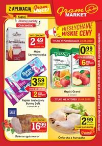 Gazetka promocyjna Gram Market - Promocje w sklepach Gram Market - ważna do 25-08-2020