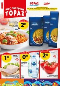 Gazetka promocyjna Topaz - Promocje każdy dzień Topaz - ważna do 26-08-2020