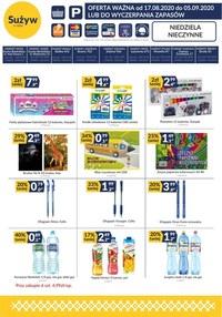 Gazetka promocyjna Sużyw - Promocje w sklepach Sużyw - ważna do 05-09-2020