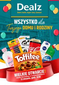 Gazetka promocyjna Dealz - Wielkie otwarcie Dealz w Chorzów!  - ważna do 27-08-2020